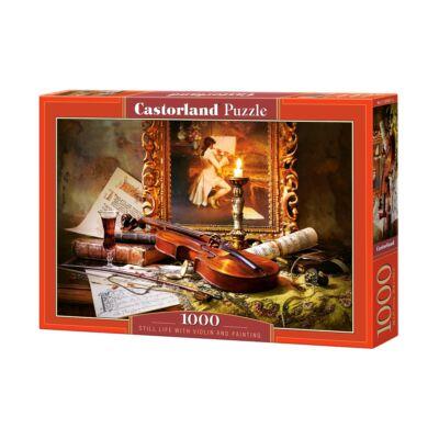 1000 db-os Puzzle - Csendélet hegedűvel