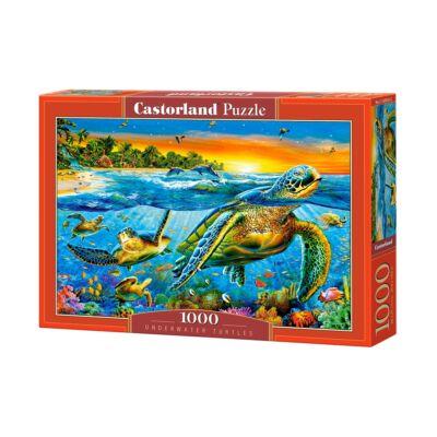 1000 db-os Puzzle - Vízalatti teknősök