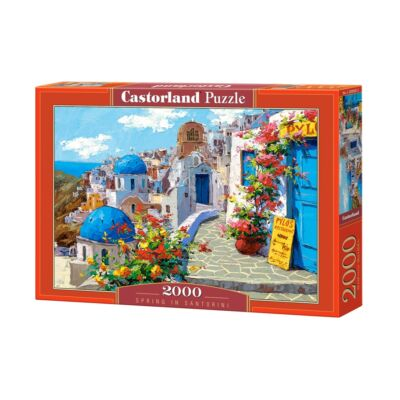 2000 db-os Puzzle - Tavasz Santoriniben