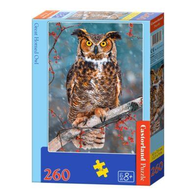 260 db-os puzzle - Bagoly