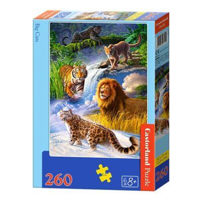 260 db-os puzzle - Nagymacskák
