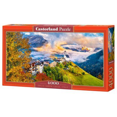 4000 db-os puzzle - Colle Santa Lucia, Olaszország