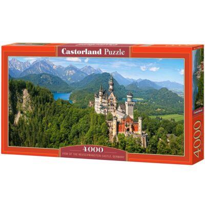 4000 db-os puzzle - Neuschwanstein kastély, Németország
