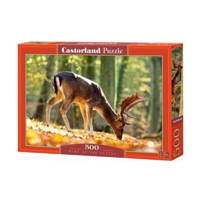 500 db-os puzzle - Az erdő királya
