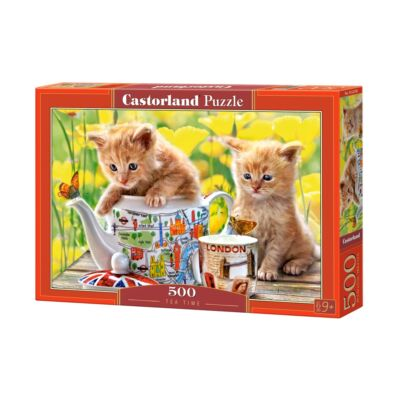 500 db-os puzzle - Tea idő