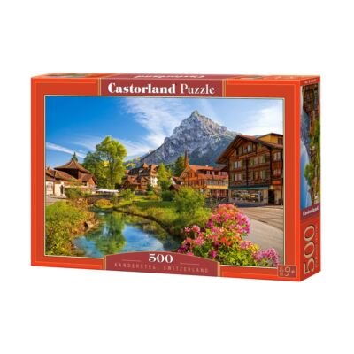 500 db-os puzzle - Kandersteg, Svájc
