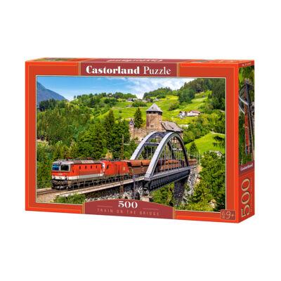 500 db-os puzzle - Vonat a hídon