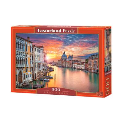500 db-os puzzle - Naplemente Velencében