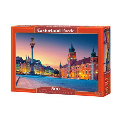 500 db-os puzzle - Kastély tér Varsóban