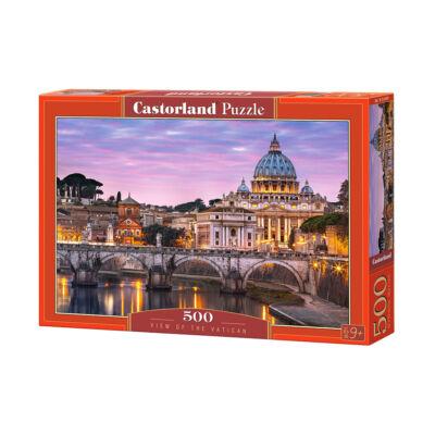 500 db-os puzzle - Rálátás a Vatikánra