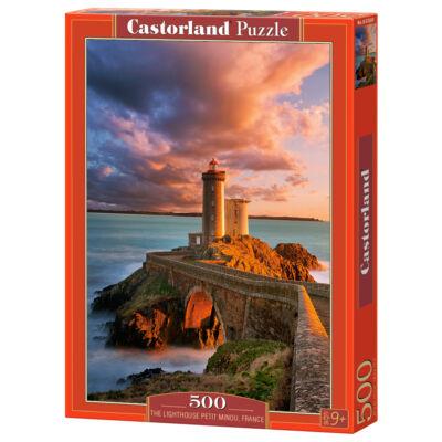 500 db-os puzzle - Petit Minou világítótorony, Franciaország