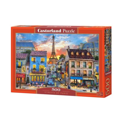 500 db-os puzzle - Párizs utcái