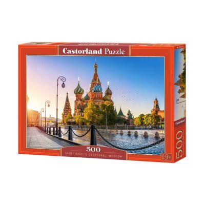 500 db-os puzzle - Szent Basil katedrális, Moszkva