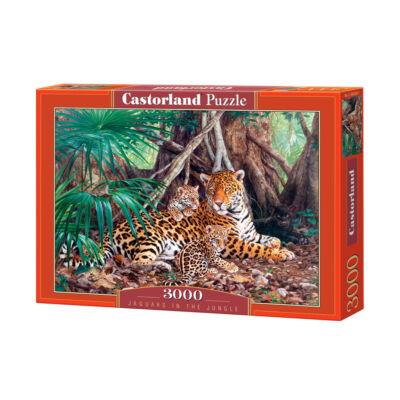3000 db-os kirakó - Jaguárok a dzsungelben