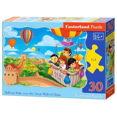 30 db-os kirakó - Hőlégballonos utazás