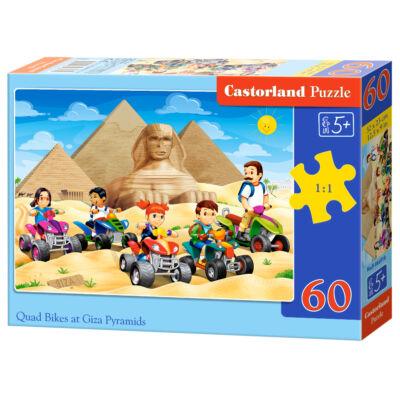 60 db-os Puzzle - Quadozás a Gisai piramisokkal