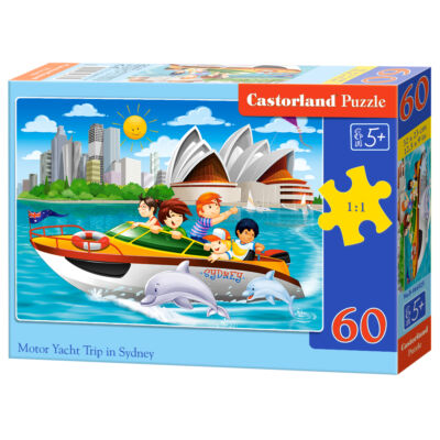 60 db-os Puzzle - Motorhajós kirándulás Sydneyben