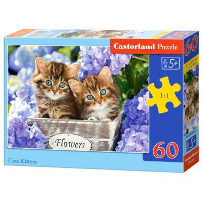 60 db-os Puzzle - Macskakölykök