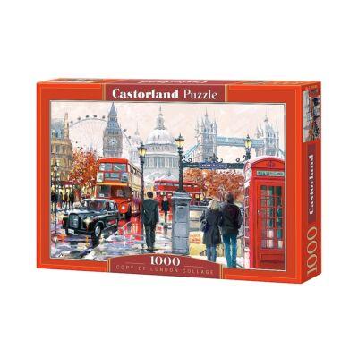 1000 db-os Castorland puzzle - Londoni kollázs