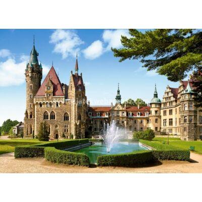 1500 db-os Puzzle – Moszna Kastély, Lengyelország