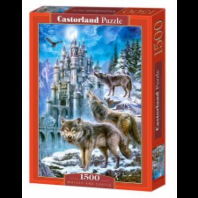 1500 db-os puzzle – Farkasok és kastély