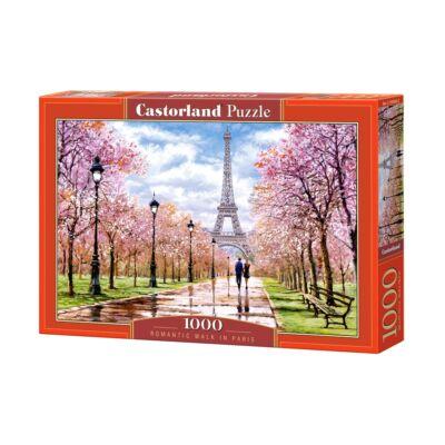 1000 db-os Puzzle -  Romantikus séta Párizsban