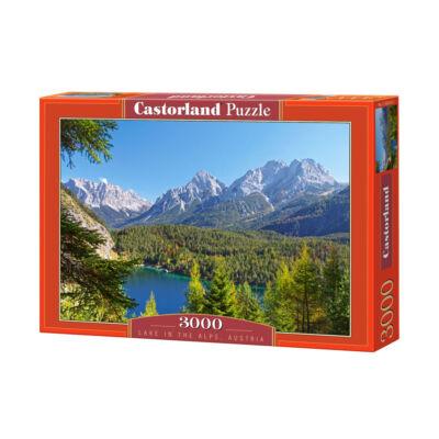 3000 db-os puzzle – Tó az Alpokban
