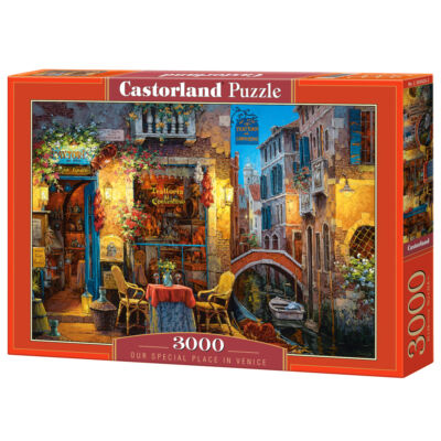 3000 db-os Puzzle - Kedvenc helyünk Velencében