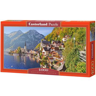 4000 db-os puzzle – Hallstatt, Ausztria