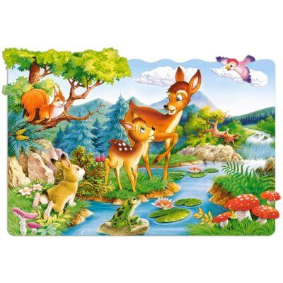 20 db-os maxi puzzle - Kicsi szarvasok