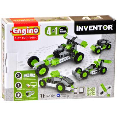Engino Inventor autók 4in1