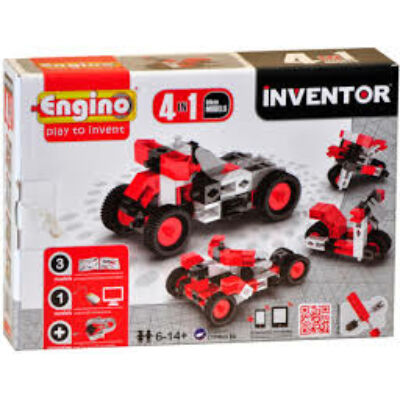 Engino Inventor motorok 4in1