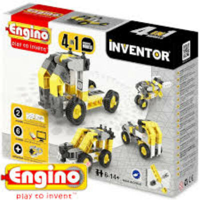 Engino Inventor munkagépek 4in1