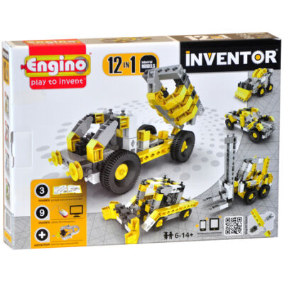 Engino Inventor munkagépek 12in1