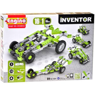Engino Inventor autók 16in1