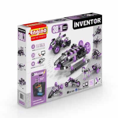 Engino Inventor motorizált kaland modellek 30in1