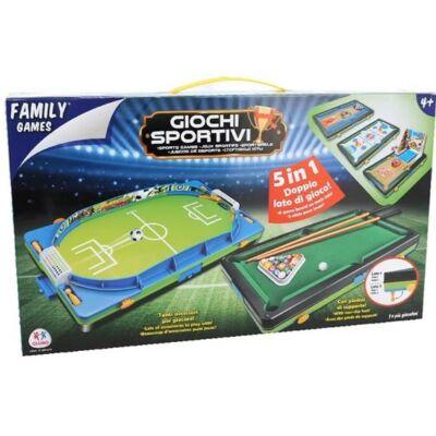 5 az 1 ben sport játék