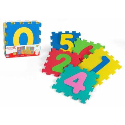 Szivacs puzzle számos