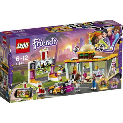 Lego Friends Heartlake autósmozi és gyorsétterem