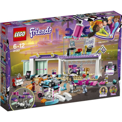 Lego Friends Autókozmetika