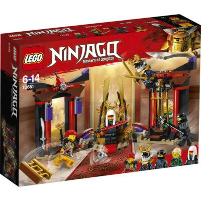 Lego Ninjago Leszámolás a trónterembe