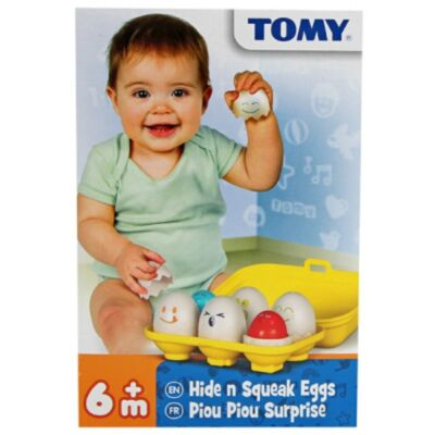 Tomy bújócskázó tojások