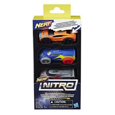 Nerf Nitro szivacsautó