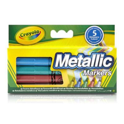 Crayola metál színű filcek